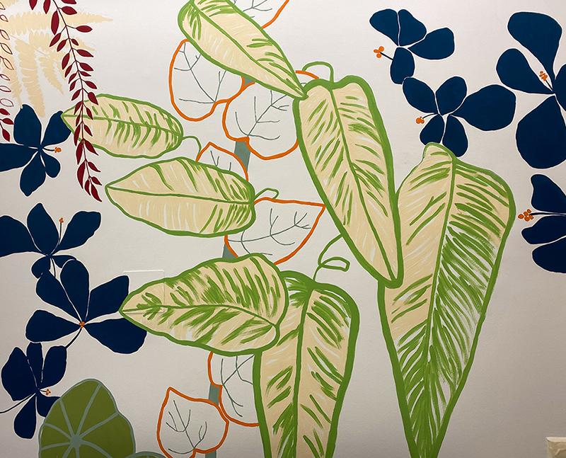Dschungel-Mural von Ulala-Vienna